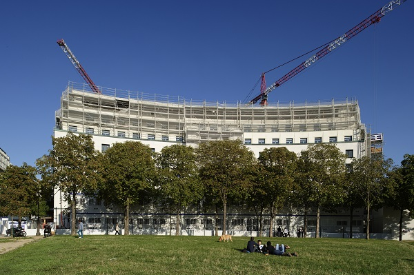 Passion Construction N°47- Chantier Ilot FontenoyPlace Fontenoy – 75007 Paris – Septembre 2015