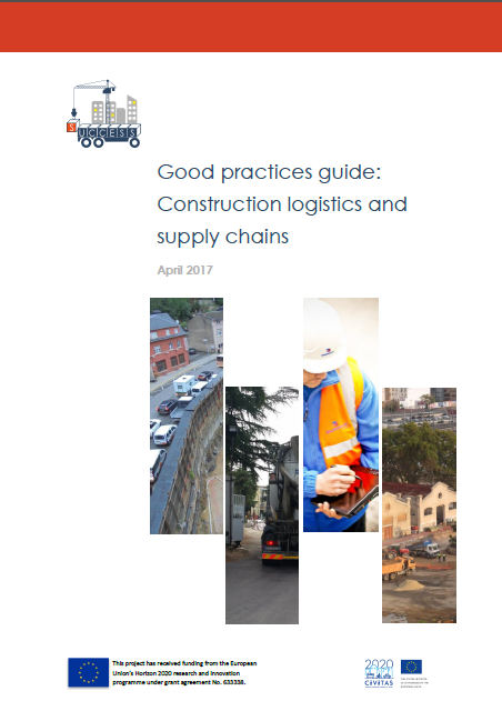 Good practices guide: Construction logistics and supply